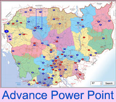 Making Map By Power Point