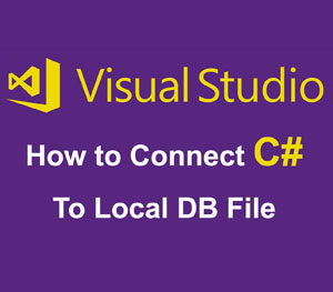 C# local database connection